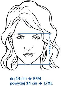 Instrukcja mierzenia maski do nurkowania Aqua-speed
